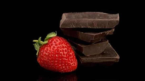 Чорний шоколад дуже корисний