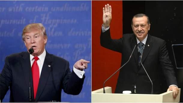 Переговори Трампа та Ердогана