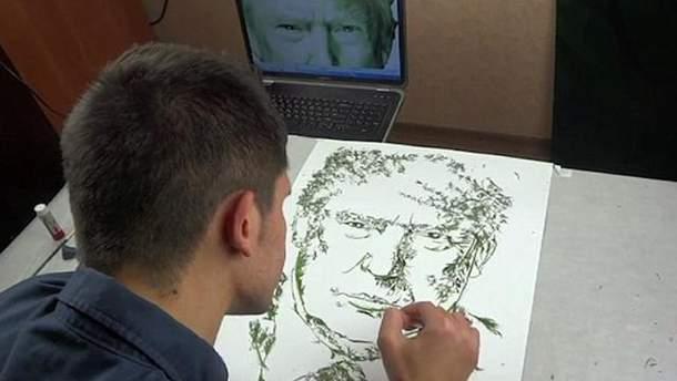 Тепер у Дональда Трампа є портрет з українського кропу
