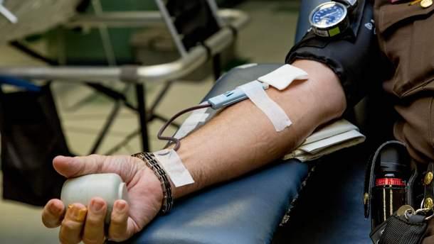 Памятка для доноров крови