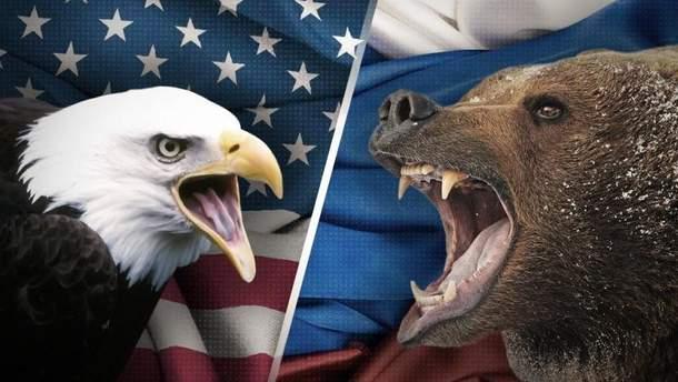 США  – Росія