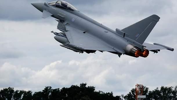 Истребители Typhoon сопровождали бомбардировщиков Ту-160
