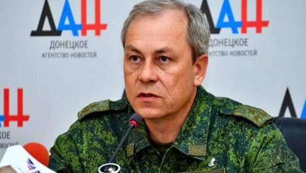 """Едуард Басурін стверджує, що бойовики """"ДНР"""" хочуть припинення вогню"""