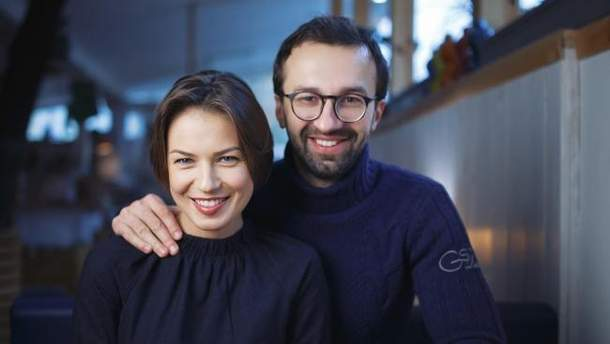 Анастасія Топольська та Сергій Лещенко