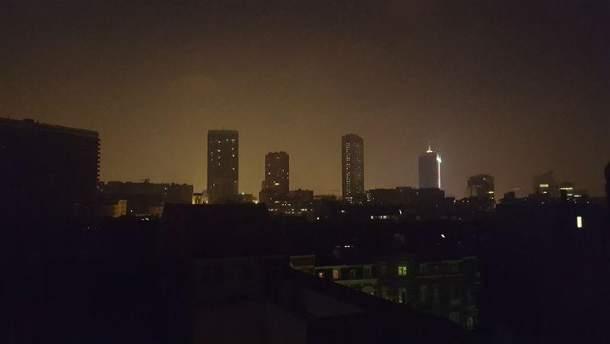 Брюссель без світла