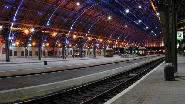 Вокзал во Львове