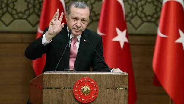 Президент Турции не слишком перебирает визитами