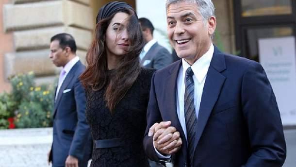Джордж и Амалия Клуни