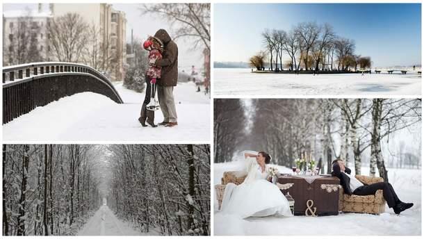 День влюбленных и романтика зимой