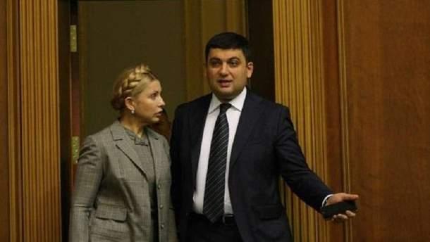 Тимошенко взялася за Гройсмана