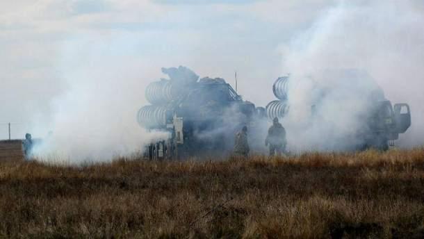 Учения ВСУ на границе с Крымом, декабрь / 2016