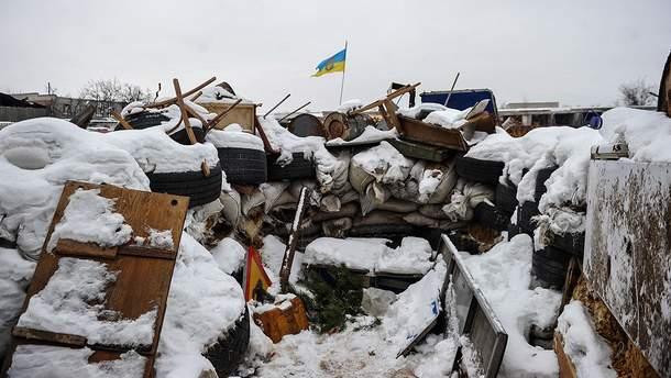Окопи українських військових