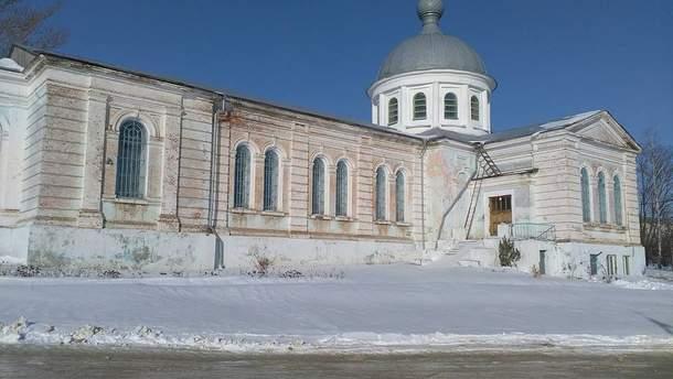 Церква у селі Бугаївка Харківської області