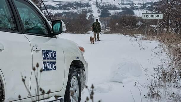 Представники ОБСЄ на Донбасі
