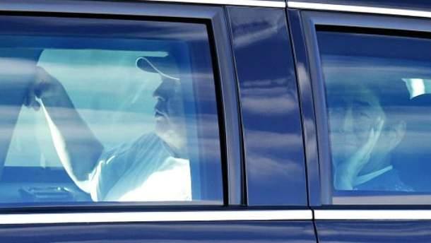 Журналістам Трамп з Абе позували неохоче