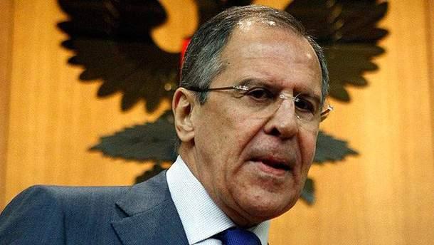 Глава Министерства иностранных дел России Сергей Лавров