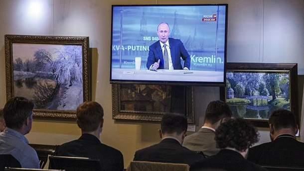 Російському телебаченню вірять вже менше громадян РФ