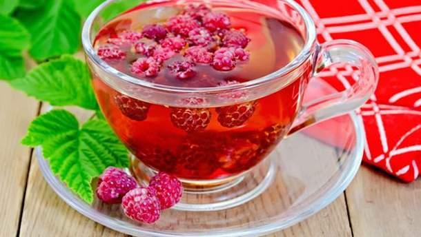 Чай с малиной может быть опасным для здоровья