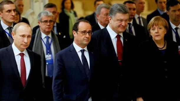 Переговоры в Минске. 13 февраля 2015 года