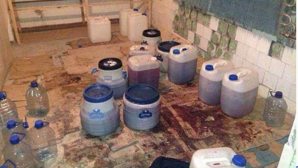 Контрафактний алкоголь з Донбасу