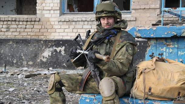 Командир взвода 54-го разведывательного батальона Руслан Пустовойт