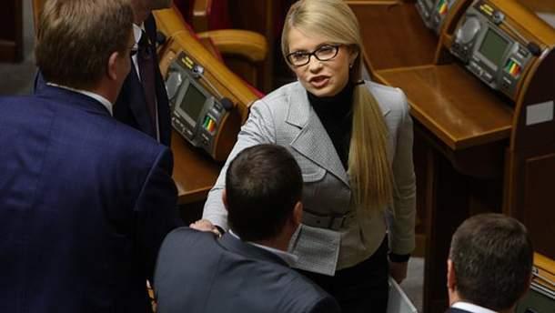 Тимошенко обратится в суд, чтобы уволить Гройсмана