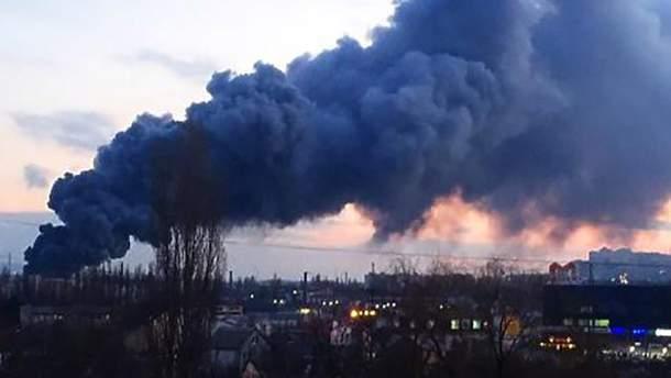 Пожежа у Сімферополі