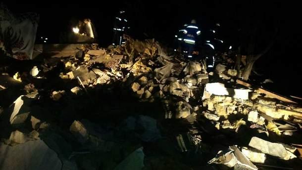 Наслідки вибуху на Одещині