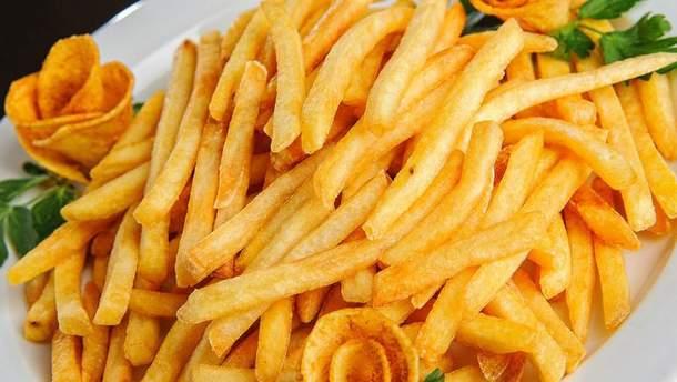 Пересмажена картопля несе в собі небезпеку