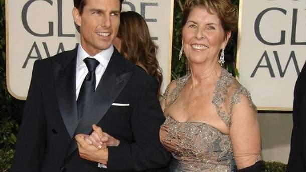 Том Круз з мамою