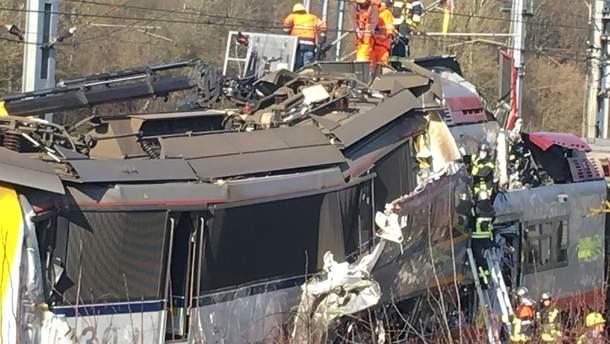 Авария в Люксембурге
