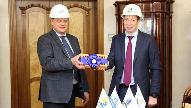 """""""Укргазбанк"""" и """"Укрбуд"""" заключили соглашение о стратегическом партнерстве"""