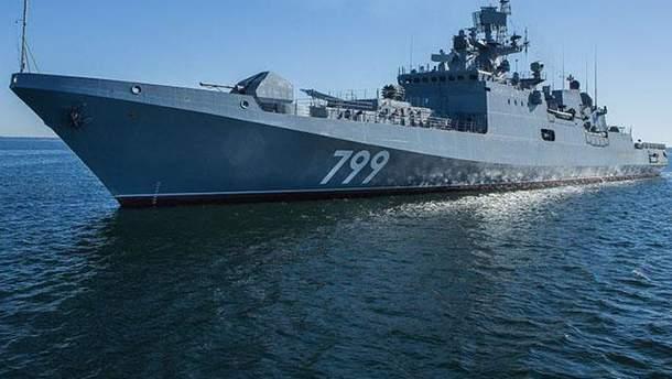 Російський фрегат