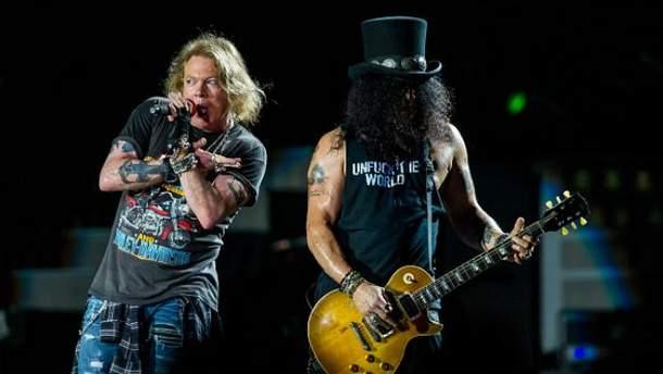 Guns N' Roses оскандалились під час виступу в Австралії