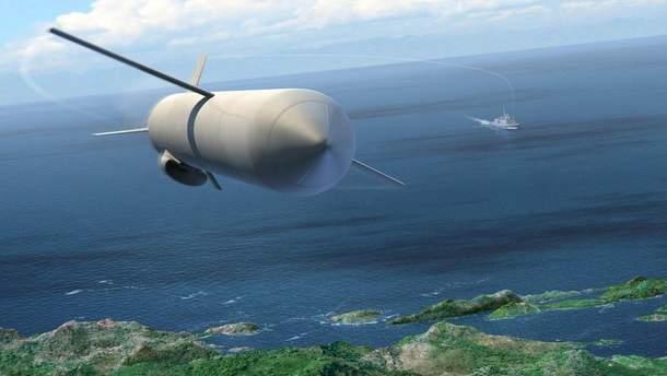 Крилата ракета (ілюстративне фото)