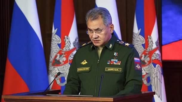 Сергей Шойгу хочет разъяснений позиции Пентагона по отношению к России