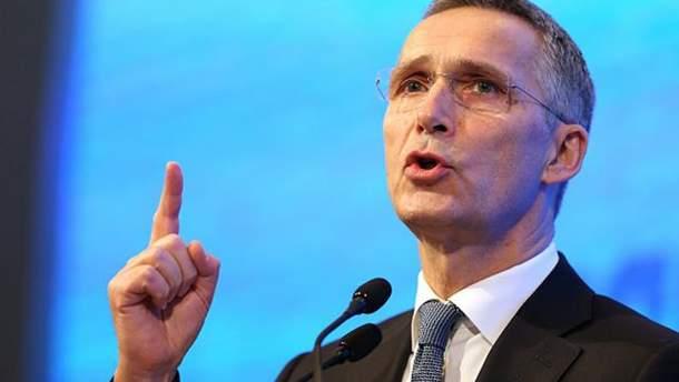 Йенс Столтенберг обещает усилить присутствие НАТО в Черном море