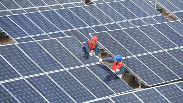 Фотоелектрична система в Чучжоу, Китай