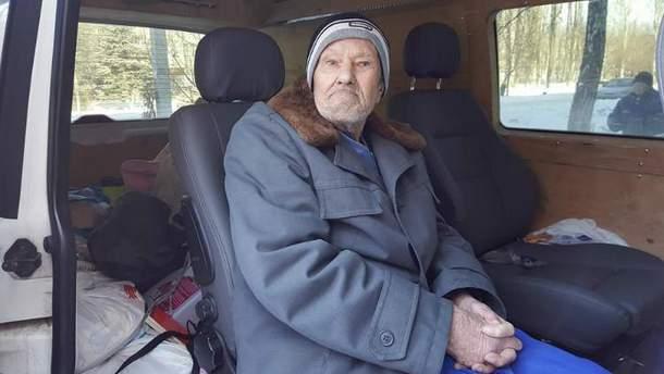 Василий Андреевич не пережил обстрела