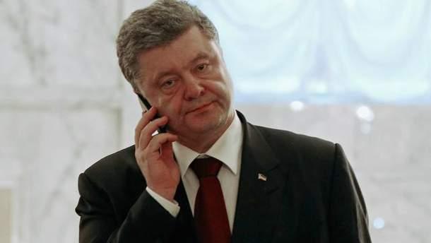 Порошенко мав першу розмову з новим держсекретарем США