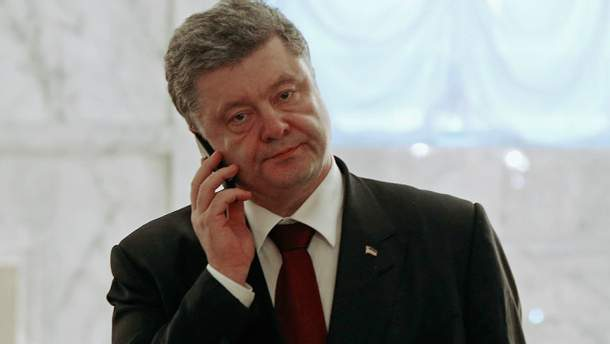 Порошенко имел первый разговор с новым госсекретарем США