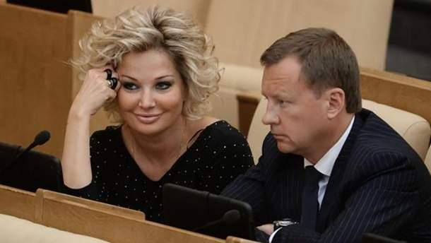 Мария Максакова и Денис Вороненков в Госдуме