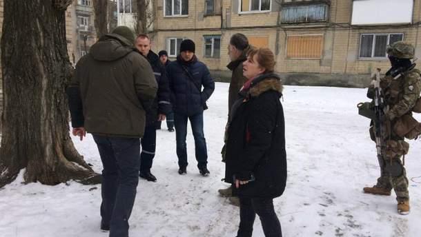 Польский депутат Госевская приехала в Авдеевку