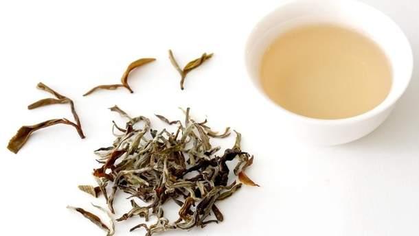 Білий чай дуже корисний