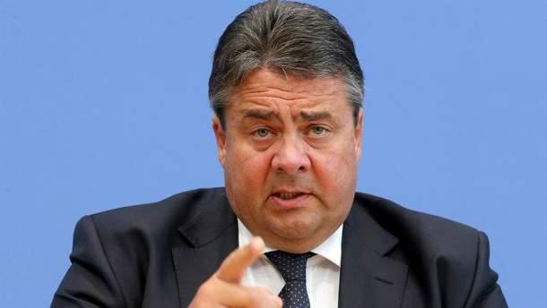 Глава МИД Германии Зигмар Габриэль