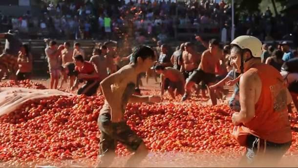 Бійка помідорами у Чилі