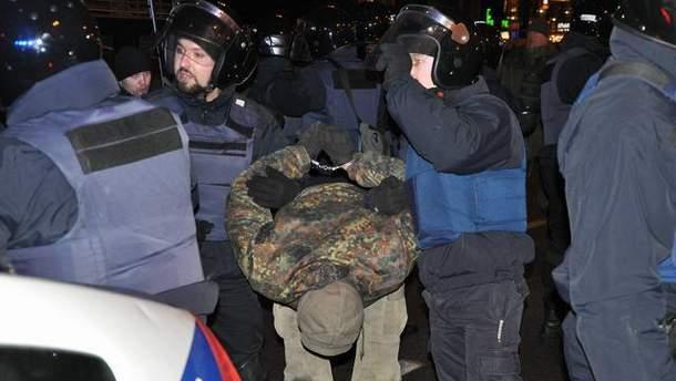 Між блокувальниками Банкової і правоохоронцями сталися сутички
