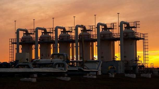 В українських сховищах залишилась  критична кількість природного газу