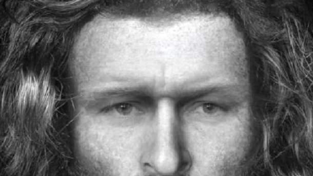 Відтворена фотографія обличчя чоловіка