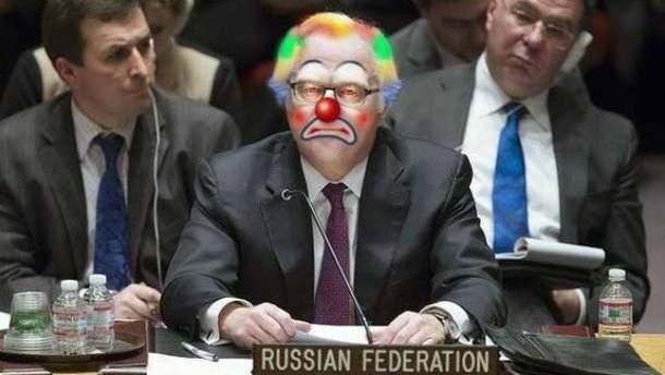 Виталий Чуркин был известен своими ложными заявлениями в ООН